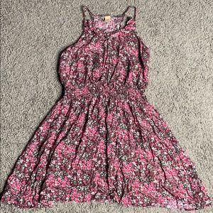 mossimo floral mini dress